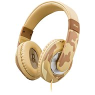 Trust Sonin Kids Headphone Desert Camo - Children's headphones