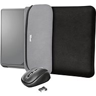 TRUST YVO MOUSE & SLEEVE F/15.6 – BLACK - Laptop Case