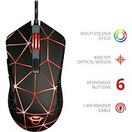 Trust GXT 133 Locx Gaming Mouse - Gaming Mouse