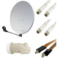 Satellite set 80 Single LNB - Parabola