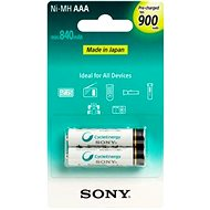 Sony NiMH 900mAh, AAA, 2-pack - Rechargeable battery