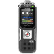 Philips DVT6010 Black/Silver - Digital Voice Recorder