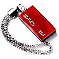 Silicon Power Touch 810 Red 8GB - USB Flash Drive