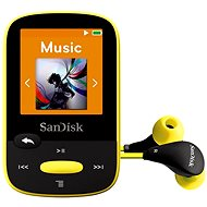 SanDisk Sansa Clip Sports 8GB Yellow - MP3 player