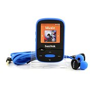 SanDisk Sansa Clip Sports 8GB Blue - MP3 player