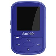 FLAC Player SanDisk Sansa Clip Sports Plus 16GB blue - FLAC přehrávač