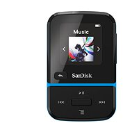 SanDisk MP3 Clip Sport GO 32GB Blue - FLAC Player