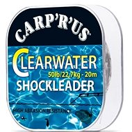 Carp'R'Us Clearwater Shock Leader 50lb 20m - Fluorocarbon