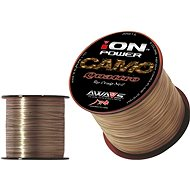 AWA-S - Ion Power Camo Quattro 0.25mm 8.4kg 600m - Fishing Line