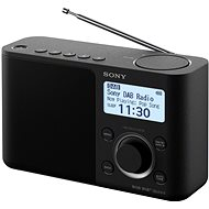 Sony XDR-S61D black - Radio