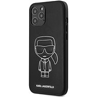 Karl Lagerfeld PU Embossed for Apple iPhone 12 Pro Max, White - Mobile Case