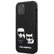 Karl Lagerfeld PU Karl&Choupette for Apple iPhone 12 Pro Max, Black - Mobile Case