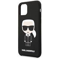 Karl Lagerfeld Iconic for iPhone 11 Pro, Black