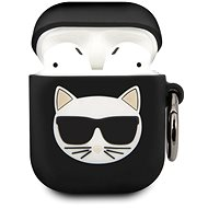 Karl Lagerfeld Choupette Case for Airpods 1/2 Black - Headphone Case