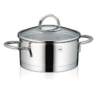 Kela CAILIN 1.5l Stainless Steel Saucepan with Glass Lid - Pot