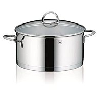 Kela CAILIN 5l Stainless Steel Saucepan with Glass Lid