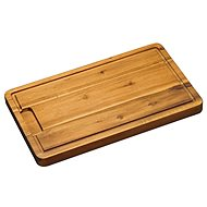 Kesper Rectangular Acacia Wood Serving Board,  45 x 27cm - Bowl Set