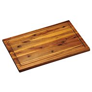 Kesper Acacia Wood Chopping Board with grooves 40x26cm - Chopping Board