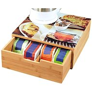 Kesper Box for Coffee Capsules with Glass Plate - Stand