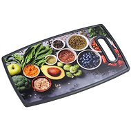 Kesper Cutting and Serving Board, Healthy Cooking 37 x 23cm - Chopping Board