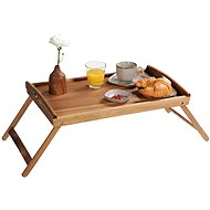 Kesper serving with positioning legs, acacia wood 55 x 35 cm - Tray