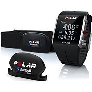Polar V800 HR Black Combo - Sports Watch