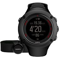 SUUNTO AMBIT3 RUN BLACK HR - Sports Watch