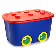 KIS Funny Box L red/blue 46l - Storage Box
