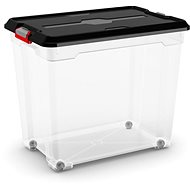 KIS Moover Box XXL - black 80l - on wheels