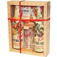 Kitl Package with Glass (Raspberry, Orange) 2 x 500 - Gift Set