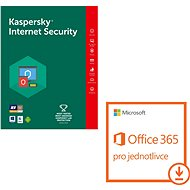 Kaspersky Int. Security for 1 device for 12 months + Microsoft Office 365 for individuals (electroni - E-license