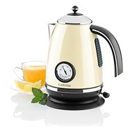Klarstein Aquavita Chalet, Cream - Rapid Boil Kettle