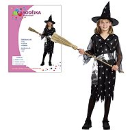Carnival Dress - Witch size M - Children's costume