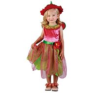 Carnival Costume - Strawberry Fairy Size XS - Children's Costume