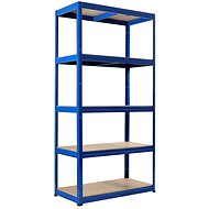 COVER FUTUR 1800 x 900 x 350 mm, blue - Shelf