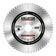 Kreator KRT020415, 185mm, 60T - Saw blade for wood