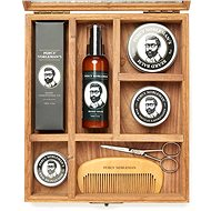 PERCY NOBLEMAN Ultimate grooming box for beard and moustache - Gift Set