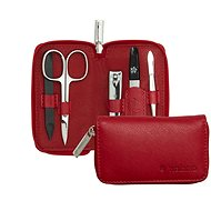 PFEILRING SOLINGEN Luxury Manicure Set 95120702, Red, Made in Solingen - Manicure Set