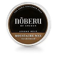 NOBERU Sandalwood Moustache Wax Strong Hold 30ml - Mustache wax