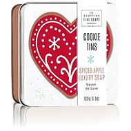 SCOTTISH FINE SOAPS Christmas Soap in a Tin Box Apples & Spices 100g - Soap