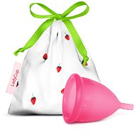 LadyCup Sweet Strawberry (small) - Menstrual Cup