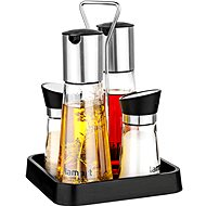 Lamart 4-Piece Condiment Set - Condiments tray