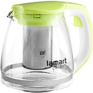 Lamart Kettle 1.1l Clear/Green LT7026 - Teapot