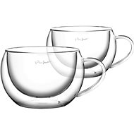 Lamart VASO Set 2 Cappuccino Glasses, 270ml, LT9012 - Thermo-Glass