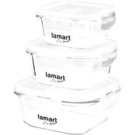 Lamart Air LT6012 Set - 3 Containers - Food Container Set