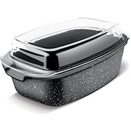 LAMART ROCK Roasting Pan with Lid 7.5l, LT1156 - Roasting Pan