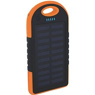 XLAYER Powerbank PLUS Outdoor Solar 4000mAh Black/Orange - Power Bank