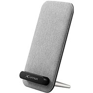 XLAYER Wireless Fast Charger 10W, Grey - Wireless Charger Stand