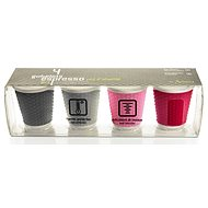 LES ARTISTES Set of 4pcs Cups 100ml Mix A-0791 - Mug