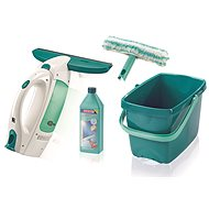 Leifheit Complete Set Window Vacuum Cleaner 51018 with Mop, Bucket, Cleaner - Cleaning Kit